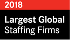Largest Global Staffing Firms 2018